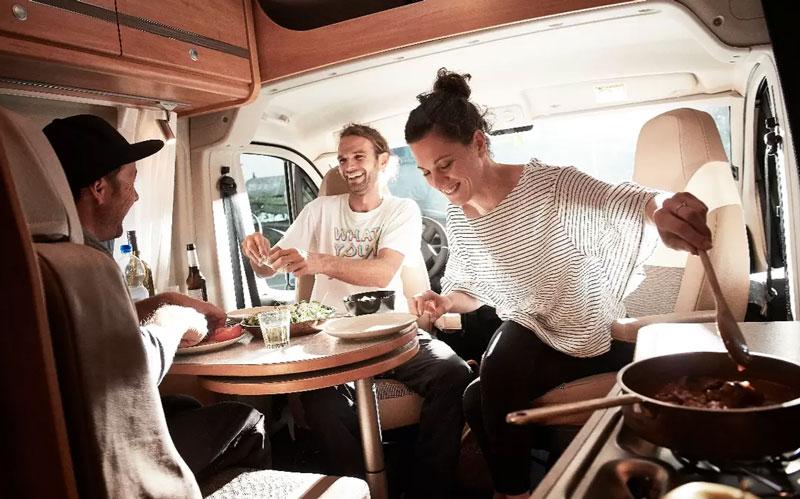 Pössl bei Sachsen Caravan